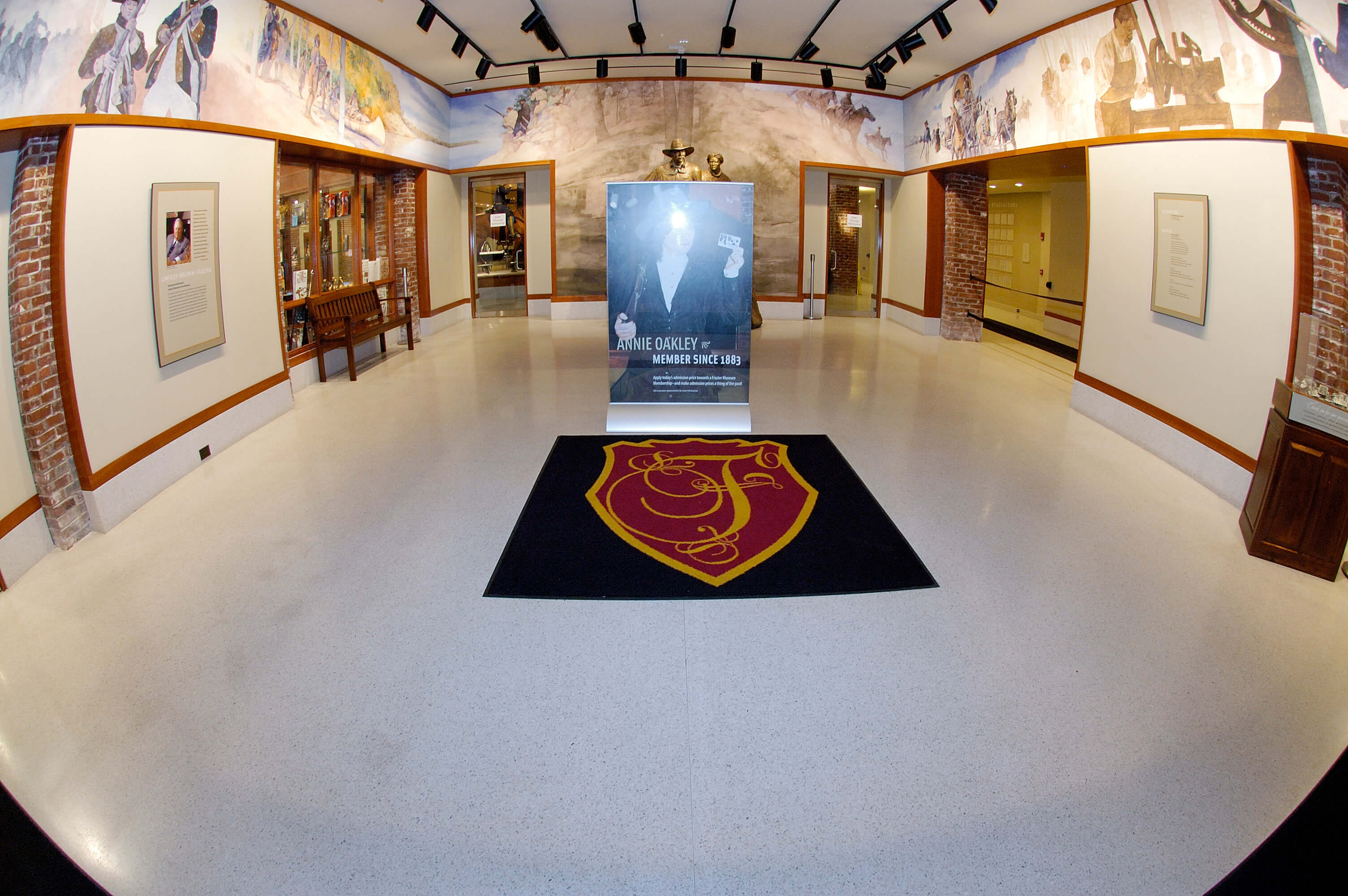 Frazier History Museum – Rosa Mosaic
